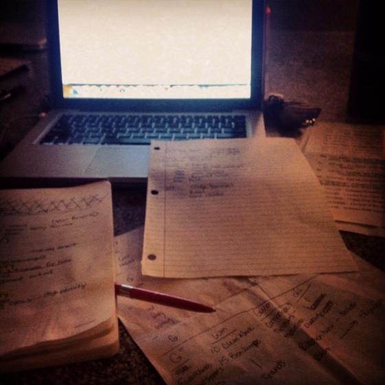 writing wods